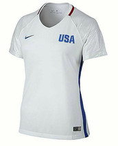 Nike Womens USA 2016 Stadium Olympic Soccer Jersey White Size Large L - $33.62