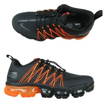 Nike Air VaporMax Run Utility Size 11 Mens Shoes Black Orange NEW AQ8810... - $148.45