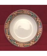 Debbie Mumm Woodland Santa vegetable serving bowl Sakura Christmas Thank... - $8.00
