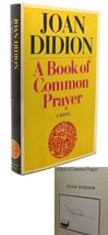 Joan Didion A BOOK OF COMMON PRAYER Signed 1st 1st Edition 1st Printing - $350.00