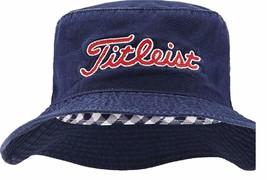 NEW! Titleist Needle Point Bucket Hat 2016 (Small/Medium, Navy) - $65.73