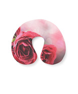 Red Roses Bokeh Travel Neck Pillow - $29.45 CAD+