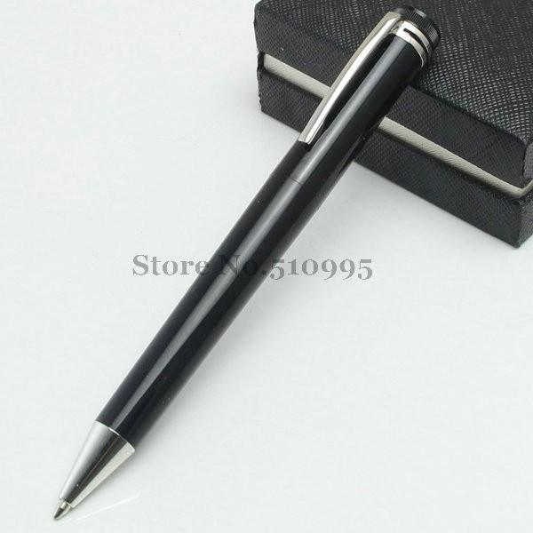 2 pcs Luxury Writers Edition hollow gold monte roller ball pen black ink office