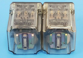 LOT OF 2 DAYTON 3X741A RELAYS 24VAC image 2