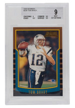 Tom Brady 2000 Bowman #236 New England Patriots Football Card BGS MT 9 - $5,939.99