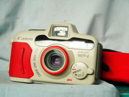 Canon Sure Shot WP-1 Weather Proof 35mm Camera Cased -NICE- TESTED - $100.00