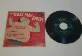 The Billy May Band 45 EP Record When I Take Sugar in my Tea/Always/Easy ... - $5.93