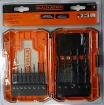 Black+Decker BDA13BODD Black Oxide Drill Bit Set (13 Piece) - $11.88
