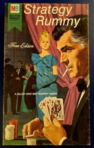 Milton Bradley Vintage Strategy Rummy Fine Edition Game Complete 1968 Ni... - $16.82
