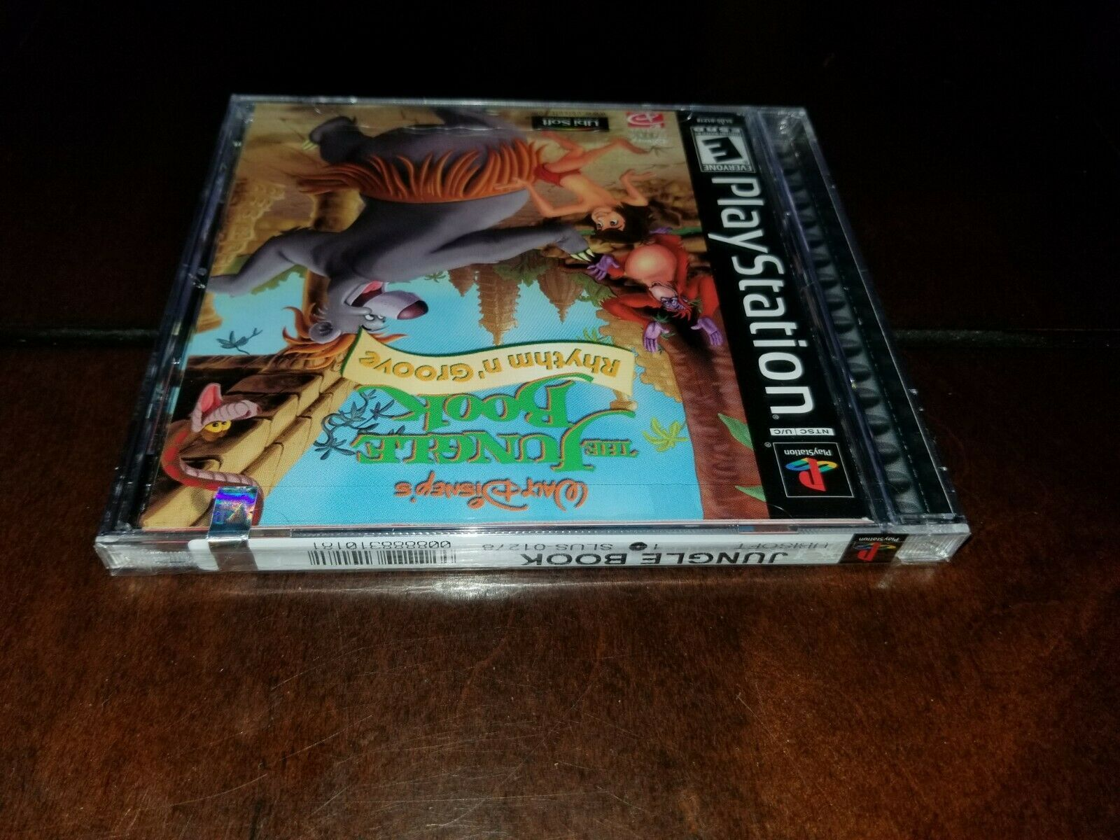 The Jungle Book Rhythm n' Groove Black Label PS1 Brand New **Inv02538** image 3