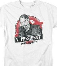 """Sons of Anarchy """"V. President"""" Television Crime Series graphic t-shirt SOA117 image 3"""