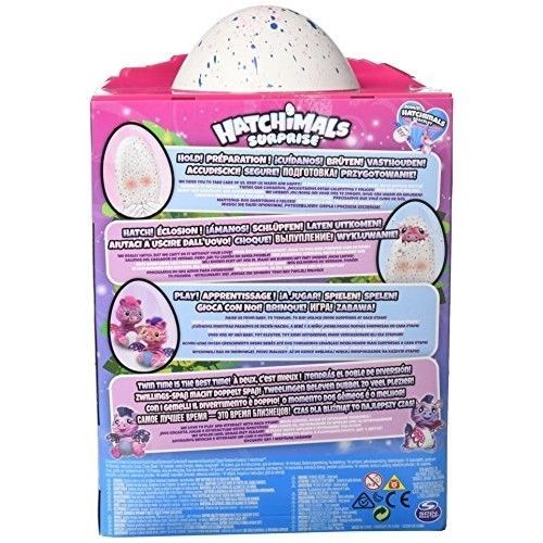 Hatchimal Surprise Twins Zuffin - Styles and Color May Vary