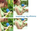 Summer Mini Pocket USB Rechargeable Handheld Air Conditioning Cooling Fan