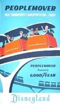 "Disneyland Goodyear ""Peoplemover"" Magnet - $6.99"