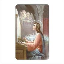 St Cecilia Patron Saint Of Musicians Vinyl Photo Magnet - $6.64