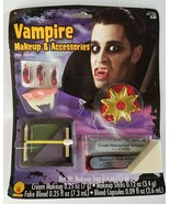 Rubie's Vampire Makeup Set & Accessories Halloween Costume Fake Blood & ... - $4.95