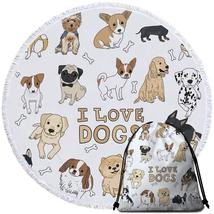 I Love Dogs Beach Towel - $12.32+