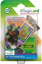 LeapFrog Teenage Mutant Ninja Turtles Imagicard Learning Game 7084313930... - $11.52