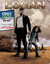 Logan Steelbook [Blu-ray + DVD]