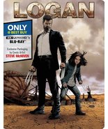 Logan Steelbook [Blu-ray + DVD]  - $12.95