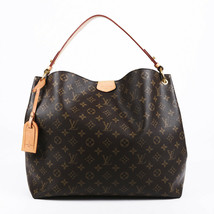 Louis Vuitton 2018 Graceful MM Monogram Hobo Bag - $1,405.00