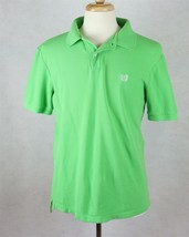 Ralph Lauren Polo Chaps Mens Green Polo Shirt Size Medium - $14.84
