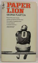 Paper Lion by George Plimpton - $3.75