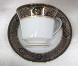 Grenoble by Noritake Number 3392 Legacy Footed Cup & Saucer Excellent Shape - $18.32