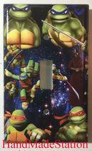 Teenage Ninj Turtles & Splinter Light Switch Power Outlet Duplex Cover Plate image 1