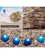 Blue OYSTER Pearl  6-7mm 20 PCS INDIVIDUALLY WRAPPED - $112.19