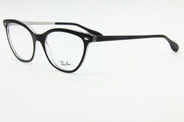 NEW RAY-BAN RB5360 2034 BLACK EYEGLASSES FRAME RB 5360 RX 54-18 W/ CASE ... - $82.73