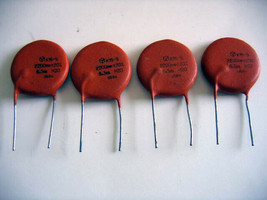 4 x 200V K40Y-9 PIO Capacitors GUITAR TONE UPGRADE AUDIO CAP 680pF 0.68nF