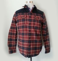 American Eagle Outfitters Heavyweight Flannel Shirt Size M Plaid Print  - $29.05