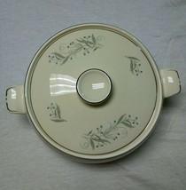 Covered Vegetable Serving Bowl Celeste Homer Laughlin B1447 Cottage China - $29.99
