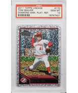 2011 TOPPS LINEAGE TOM SEAVER DIAMOND ANN. #170 PSA GEM MINT 10 (MR) - $197.99