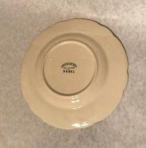 """4 Vintage Franciscan Desert Rose 7 5/8"""" Salad Plate Arch Mark California image 7"""