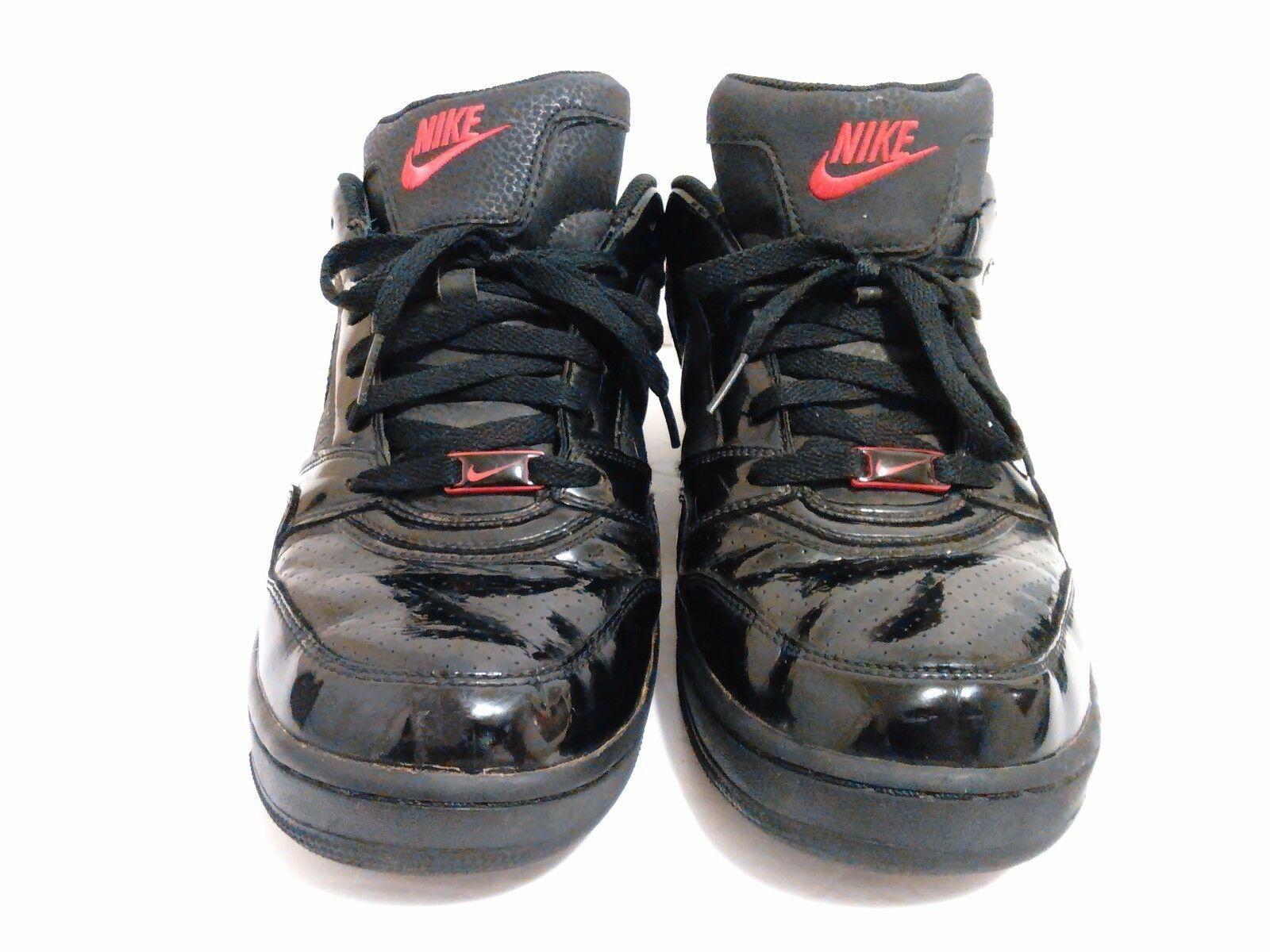 Men's Nike Air Prestige III 3 Shoes Sneakers 386114-006 (Sz:12) Black/Red