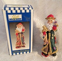 Santa Claus Christmas Figurine Dolgencorp Gift Collection 5 inches Tall NIB - $15.99