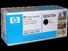 HP Q2670A (308A) Black Toner Cartridge - $24.75