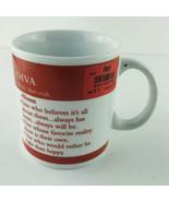 DIVA- Pron: dee-vuh = DICTIONARY DEFINITION,  Porcelain Coffee Cup/ Mug,... - $7.25