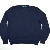 Polo Ralph Lauren Pullover Sweater - Crew Neck - Navy Blue - XL - $39.60