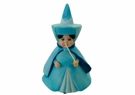 Merryweather Sleeping Beauty Fairy figurine Blue Walt Disney Aurora Maleficent - $72.57