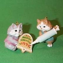 Hallmark Keepsake 1994 Sweet Greeting Set of 2 Kittens - $6.93