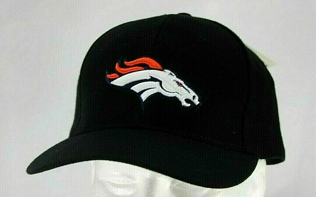 Primary image for Denver Broncos NFL Black Baseball Hat Adjustable