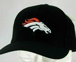 Denver Broncos NFL Black Baseball Hat Adjustable