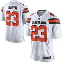 Joe Haden 2017 Cleveland Browns White Game Men Jersey - $59.99
