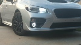 White LED Halo Fog lamps Kit with Wiring Harness for 2015-2019 Subaru WR... - $102.06