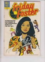 Friday Foster #1 FN- october 1972 - dell comics - afrocentric - black he... - $139.99