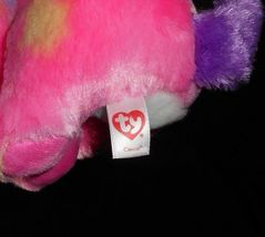 "9"" TY BEANIE BOOS CANCUN PINK CHIHUAHUA PUPPY DOG STUFFED ANIMAL PLUSH TOY W TAG image 6"