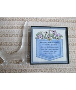 Framed Expressions:  Inspirational Pocketful of Flowers - $10.00